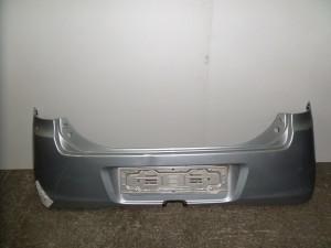 Daihatsu Cuore 2002-2006 πίσω προφυλακτήρας ασημί