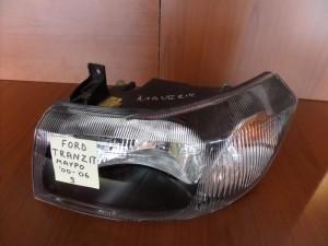 Ford Transit 2000-2006 φανάρι εμπρός μαύρο αριστερό