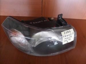 Ford Transit 2000-2006 φανάρι εμπρός μαύρο δεξί