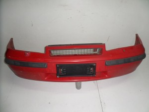 Opel calibra 89-95 προφυλακτήρας εμπρός κόκκινος