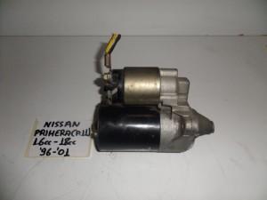 Nissan Primera P11 1996-2002 1.6cc kai 1.8cc βενζίνη μίζα