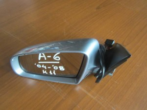 Audi A6 04-08 ηλεκτρικός καθρέπτης αριστερός ασημί σκούρο (11 καλώδια)