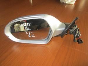 Audi A6 2011 ηλεκτρικός καθρέπτης αριστερός ασημί (6 καλώδια)