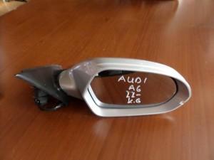 Audi A6 2011 ηλεκτρικός καθρέπτης δεξιός ασημί (6 καλώδια)