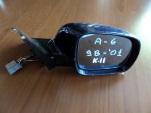 Audi A6 98-01 ηλεκτρικός καθρέπτης δεξιός μπλέ σκούρο (11 καλώδια)