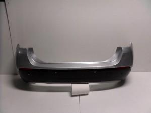 BMW X1 E84 2009-2015 patronic πίσω προφυλακτήρας ασημί