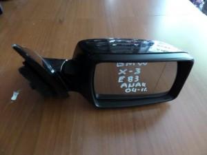 BMW X3 E83 04-11 ηλεκτρικός ανακλινόμενος καθρέπτης δεξιός μαύρος