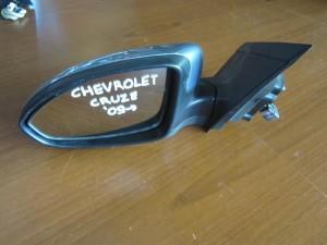 Chevrolet Cruze 2008-2016 ηλεκτρικός καθρέπτης αριστερός γαλάζιος (5 ακίδες)