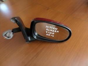 Nissan almera tino 2000 ηλεκτρικός καθρέπτης δεξιός μπορντό