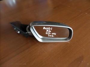 Audi A6 02-04 ηλεκτρικός καθρέφτης δεξιός ασημί (10 καλώδια)