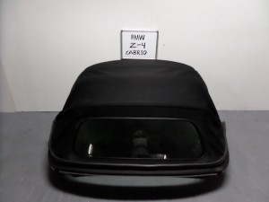BMW z4 E85 03-09 κουκούλα ουρανού με τζάμι μαύρη