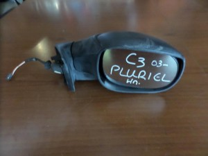 Citroen C3 Pluriel 2003-2010 ηλεκτρικός καθρέπτης δεξιός άβαφος (3 καλώδια)