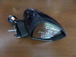 Citroen C4-DS4 2011 ηλεκτρικός ανακλινόμενος καθρέπτης δεξιός μπλέ (13 καλώδια)