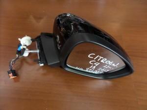 Citroen C4 2011-2017 DS4 2011-2017 ηλεκτρικός ανακλινόμενος καθρέπτης δεξιός μαύρος (13 καλώδια)