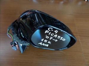 Citroen C4 picasso 07 ηλεκτρικός ανακλινόμενος καθρέπτης δεξιός μαύρος (15 καλώδια)