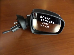 Dacia sandero-logan 07-13 μηχανικός καθρέπτης δεξιός ασημί