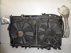 Honda CRV 2002-2007 2.0cc diesel ψυγείο κομπλέ (νερού-air condition-βεντιλατέρ)