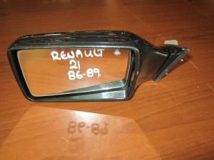 Renault 21 86-89 ηλεκτρικός καθρέπτης αριστερός σκούρο πράσινο