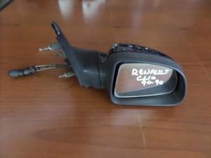 Renault clio 90-94 μηχανικός καθρέπτης δεξιός σκούρο μπλέ