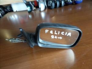 Skoda Felicia 1994-2001 μηχανικός καθρέπτης δεξιός άβαφος