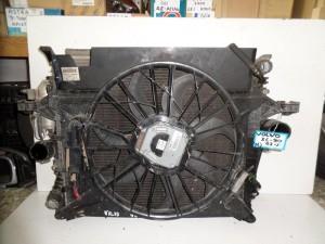 Volvo XC90 2002-2007 4.5cc βενζίνη καί 2.5cc diesel ψυγείο κομπλέ (νερού-air condition-βεντιλατέρ-intercooler)