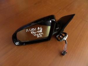Audi A6 04-08 ηλεκτρικός καθρέπτης αριστερός μαύρος (7 καλώδια)
