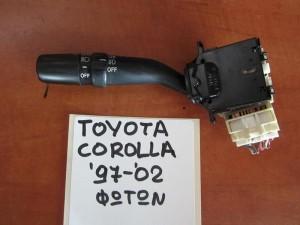Toyota corolla 97-02 διακόπτης φώτων-φλάς