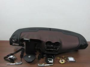 Alfa romeo mito 08 σετ airbag μπορντό