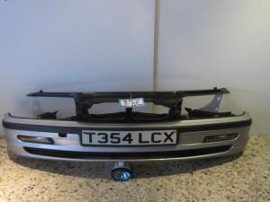 BMW E46 99-02 sedan μούρη εμπρός και προφυλακτήρας ασημί
