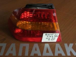 BMW series 3 E46 2003-2005 αριστερό πίσω φανάρι πορτοκαλί φλάς