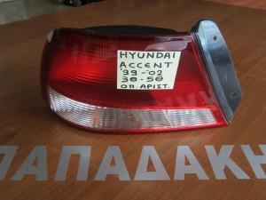 Hyundai accent 1999-2002 3θυρο-5θυρο αριστερό πίσω φανάρι