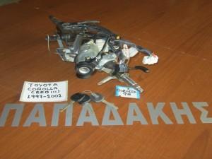 Toyota corolla (EEB11) 1997-2002 άξονας τιμονιού με διακόπτη μίζας