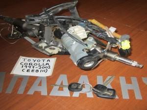 Toyota corolla (EEB111) 1997-2002 άξονας τιμονιού με διακόπτη μίζας