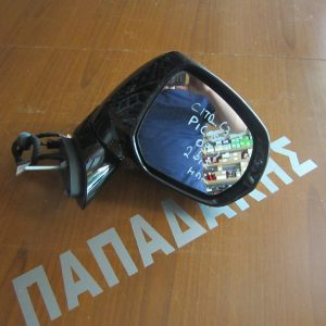 Citroen C3 Picasso 2009- καθρέπτης δεξιός ηλεκτρικός 2 φις ασημί