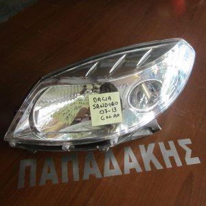 Dacia Sandero 2007-2013 φανάρι εμπρός αριστερό