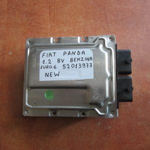Εγκεφαλος μηχανης Fiat Panda New 2012-2017 1200 cc 8valve βενζινη Euro 6 Κωδικο 52013977