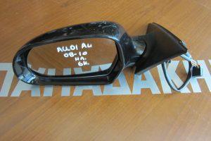 Καθρεπτης αριστερος ηλεκτρικος AUDI A4 2008-2010 μαυρος