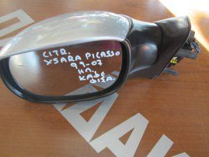 Citroen Xsara Picasso 1999-2007 καθρεπτης αριστερος ηλεκτρικος(καφε φις) ασημι