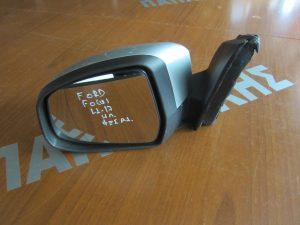 Ford Focus 2011-2017 καθρέπτης αριστερός ηλεκτρικός ασημί φως ασφαλείας
