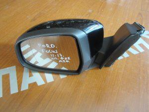 Ford Focus 2011-2017 καθρεπτης αριστερος ηλεκτρικος φος ασφαλιασ μαυρος