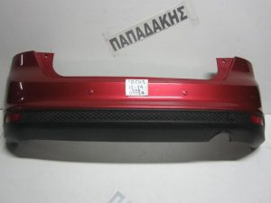 Ford Focus 2011-2014 προφυλακτήρας πίσω κόκκινος με αισθητήρες