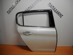 Peugeot 308 2013-2017 πόρτα πίσω δεξιά άσπρη πέρλα (όχι τζάμι)