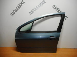 Peugeot 307 2001-2008 πόρτα εμπρός αριστερή γκρι