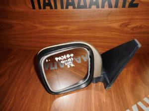 Mitsubishi Pajero 2001-2007 ηλεκτρικός καθρέπτης αριστερός ασημί σκούρο 5 καλώδια 5πορτο