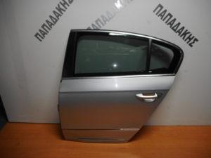 VW Passat 2005-2011 πόρτα πίσω αριστερή ασημί