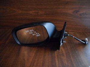 Toyota Yaris 2006-2011 ηλεκτρικός καθρέπτης αριστερός μαύρος 5 καλώδια