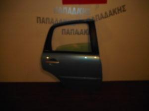 Citroen C3 2002-2009 πόρτα πίσω δεξιά γαλάζια