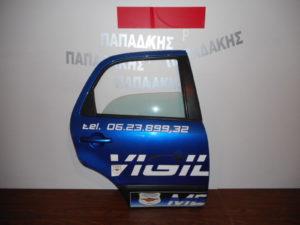 Fiat Sedici 2007-2014 πόρτα πίσω δεξιά μπλε