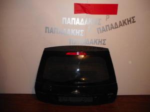 Ford Fiesta 2002-2008 οπίσθια πόρτα 5πορτο μαύρη με τζάμι φιμέ