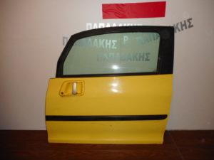 Peugeot 1007 2004-2009 πόρτα αριστερή δύθυρη κίτρινη